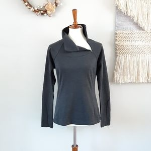 prAna | Women's Bourke Pullover Top - Charcoal